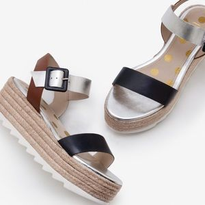 Boden | Lena Platform Espadrille Sandals